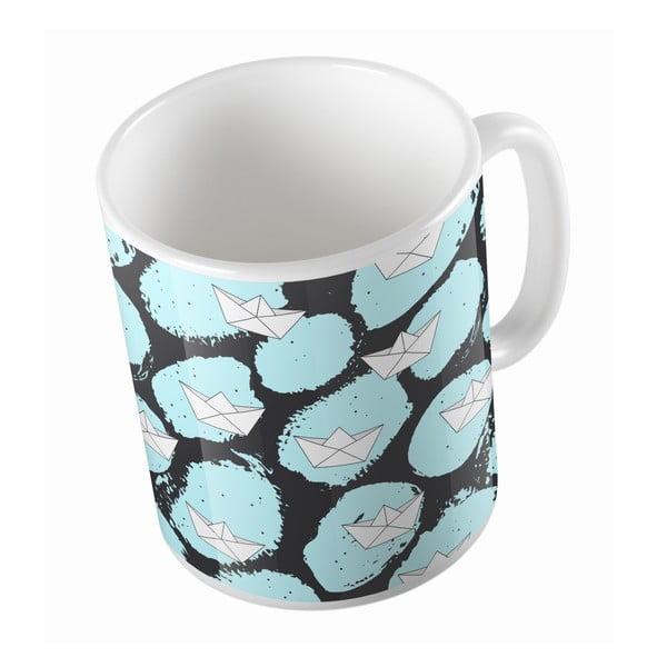 Ceramiczny kubek Paper Boat, 330 ml