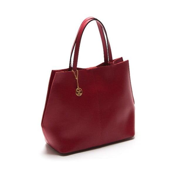 Skórzana torebka Sofia Cardoni 389 Rosso