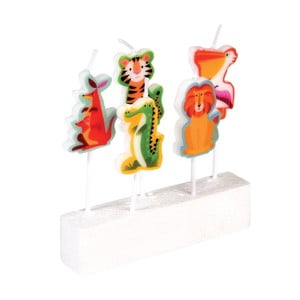 Komplet 5 świeczek Rex London Colourful Creatures