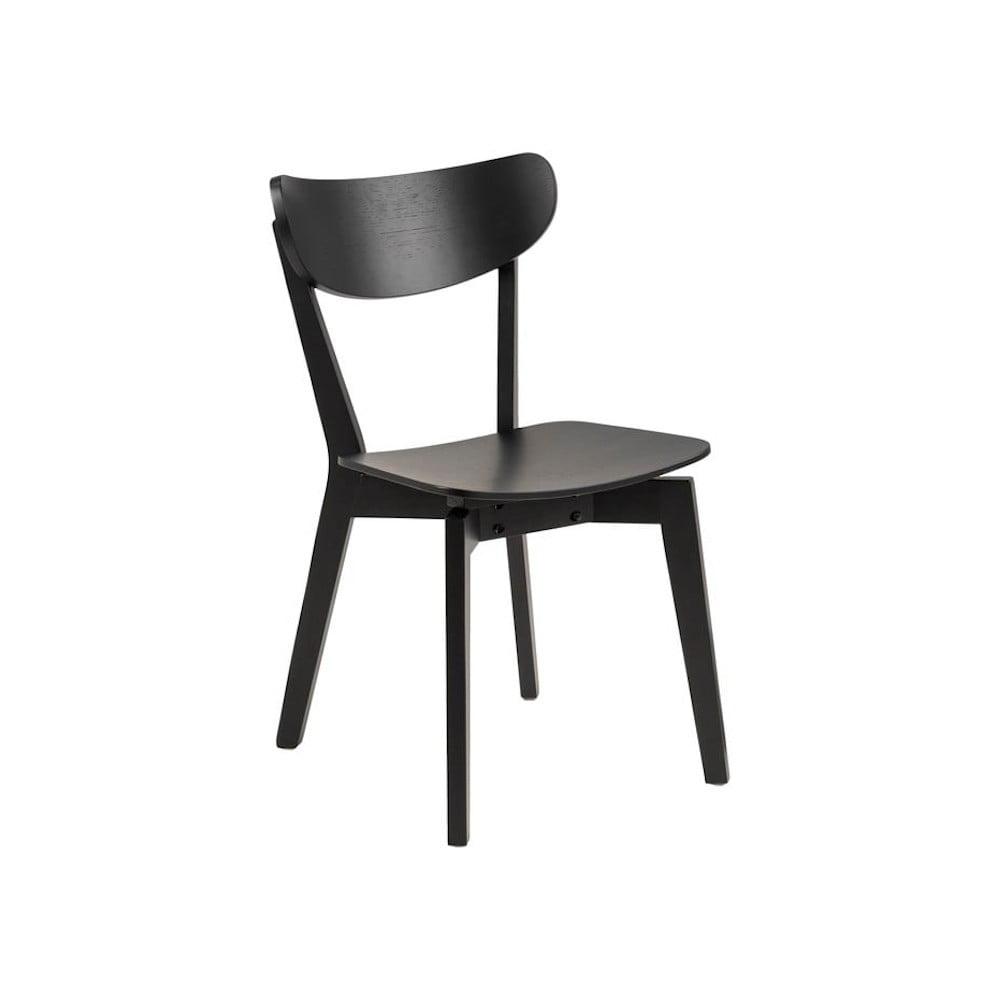 Czarne krzesło Actona Roxby