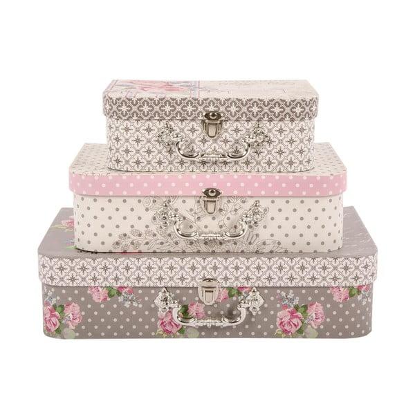Zestaw 3 pudełek French Elegance