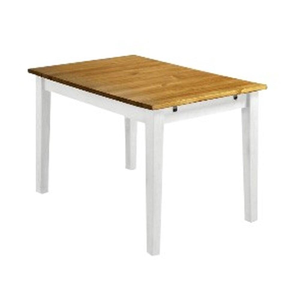 Drewniany Stół Rozkładany Do Jadalni Z Białymi Nogami 13casa Ginger