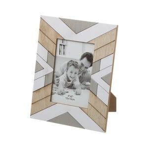 Beżowo-szara ramka na zdjęcie Unimasa, 18x23 cm