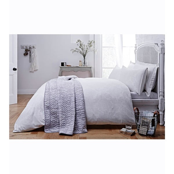Pościel Jacquard White, 230x220 cm