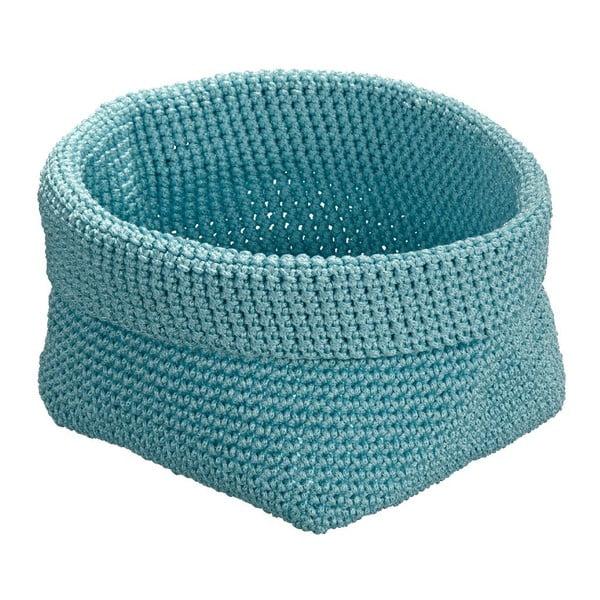 Niebieski koszyk okrągły Wenko Malia