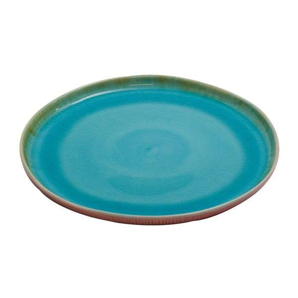 Ceramiczny talerz Prego Plain Azur, 27 cm