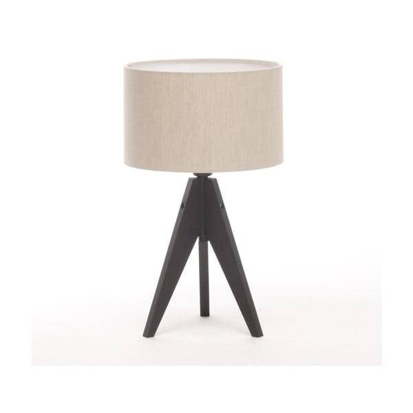 Lampa stołowa Artist Cylinder Natural/Black