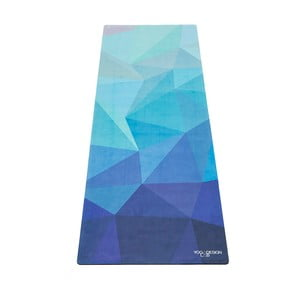 Mata do   jogi Yoga Design Lab Combo Geo Blue, 1,8 kg