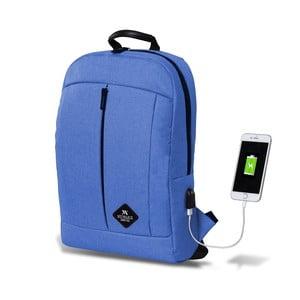 Modrý batoh s USB portem My Valice GALAXY Smart Bag