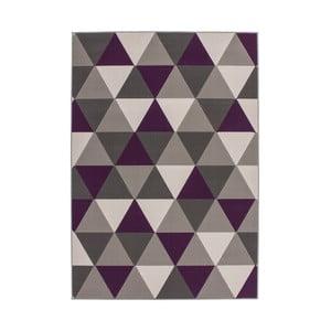 Fioletowy dywan Kayoom Stella 200, 80x150 cm