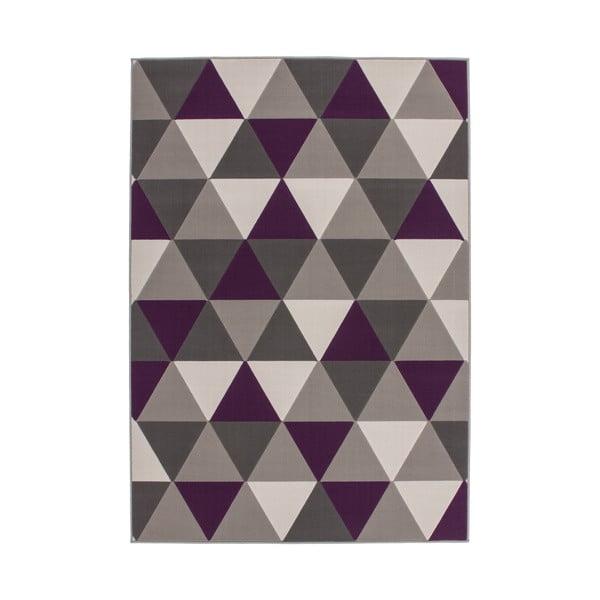 Fioletowy dywan Kayoom Stella 200, 160x230 cm