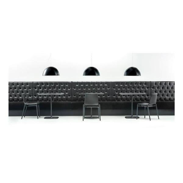Czarna lampa sufitowa Pedrali L002S/BA