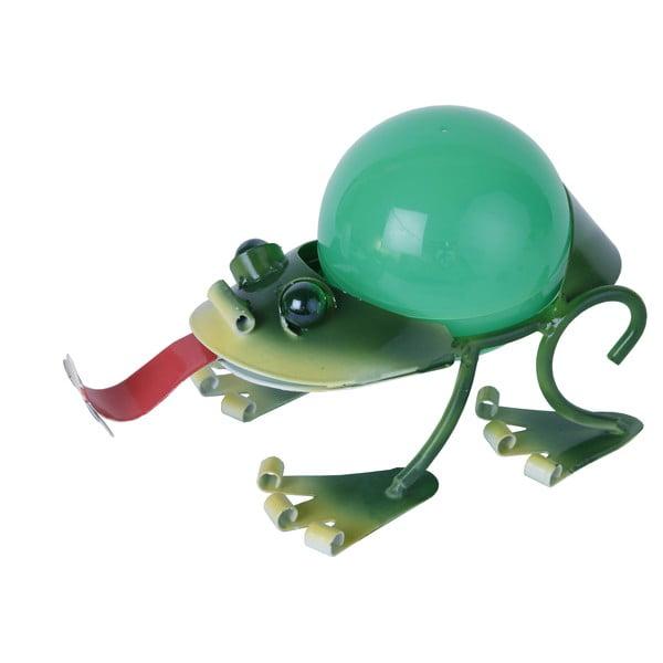Dekoracja ogrodowa z LED Frog