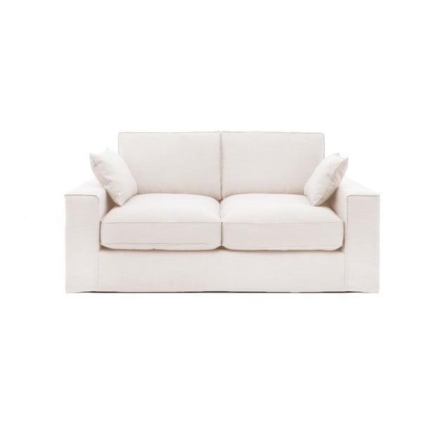 Kremowa sofa trzyosobowa Vivonita Jane