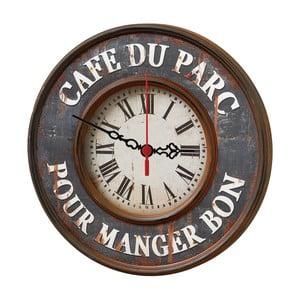 Zegar ścienny Cafe Du Parc, 30 cm