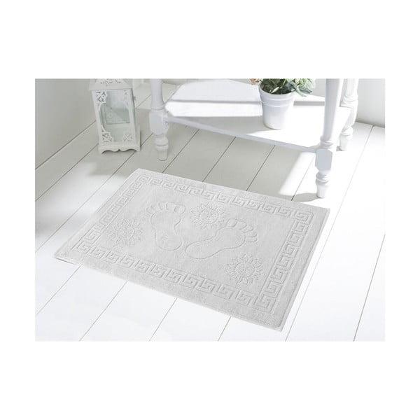 Dywanik łazienkowy Sveta White, 50x70 cm