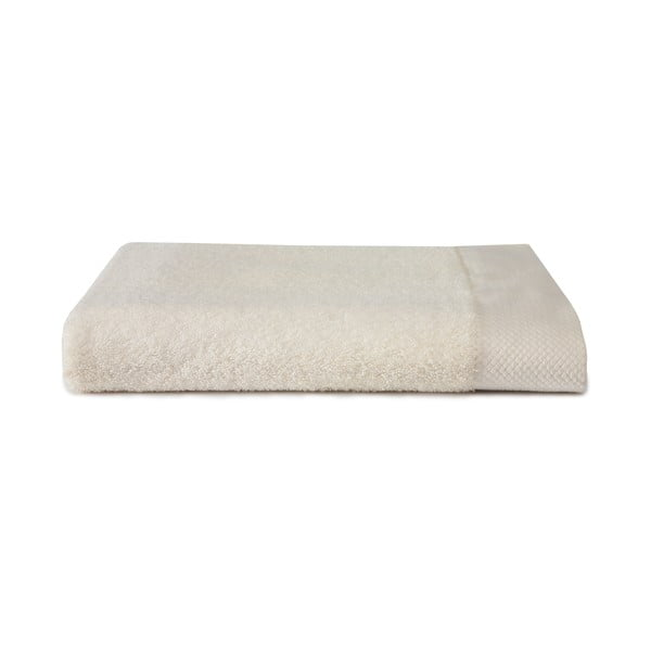 Kremowy ręcznik Seahorse Pure, 70x140cm