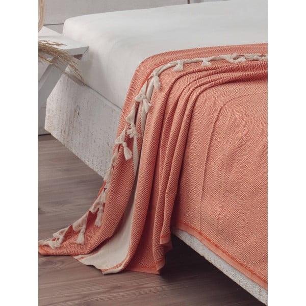 Narzuta Elmas Orange, 200x240 cm