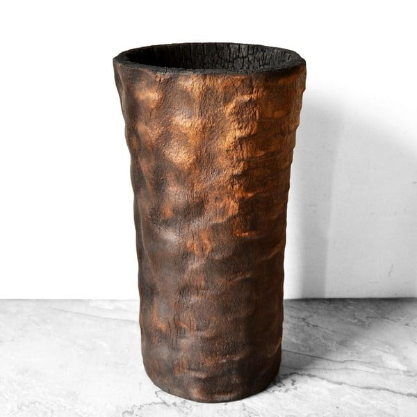 Wypalany palmowy wazon Pot