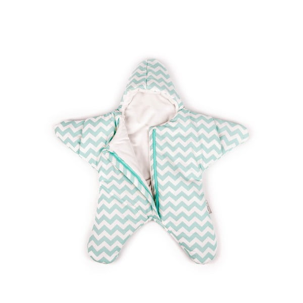 Śpiworek dla dziecka (również na lato) Mint Star, od 4 do 7 miesięcy