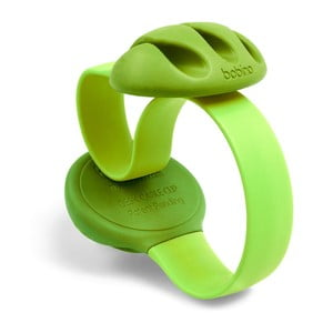 Zielony uchwyt na kable na biurko Bobino Cable Clip