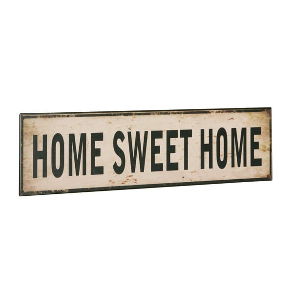 Tablica Home sweet home, 10x40 cm