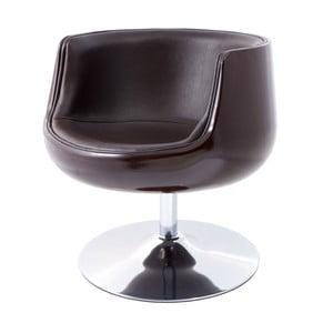 Krzesło obrotowe Cognac, brązowe