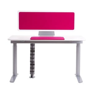 Stół Ergo, różowy