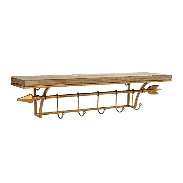 Wieszak drewniany  Antique, 60x15x13 cm