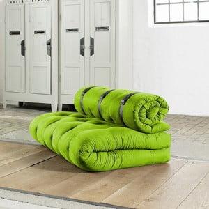Sofa rozkładana Karup Buckle Up Lime