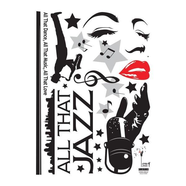 Naklejka Jazz Singer