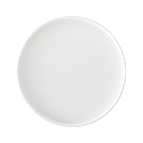 Biały blat na puf Softline Drum Small a High