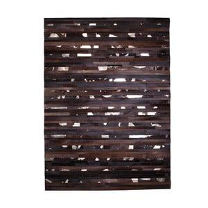 Dywan skórzany Leap Brown, 170x240 cm