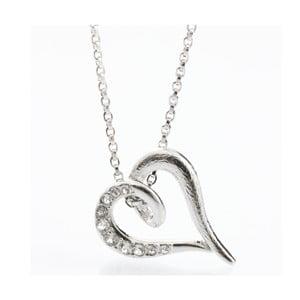 Naszyjnik Laura Bruni Swarovski Elements Heart Crystal