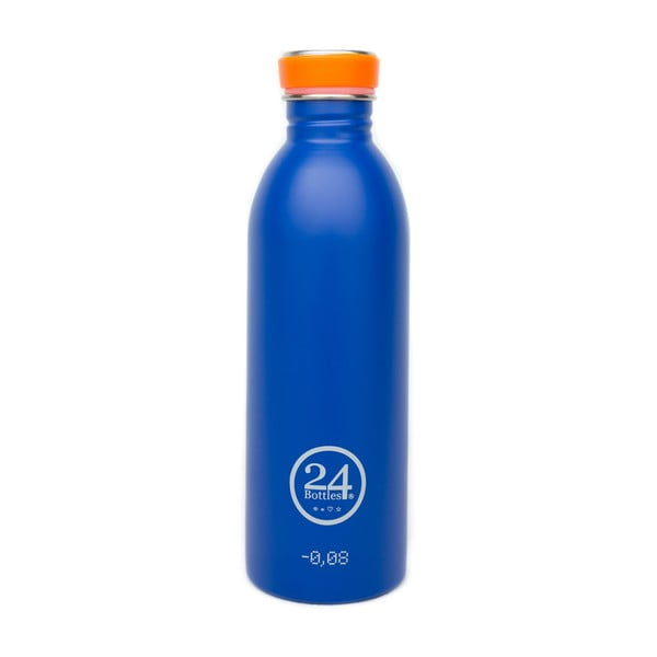 Bidon Urban Bottle Gold Blue, 500 ml