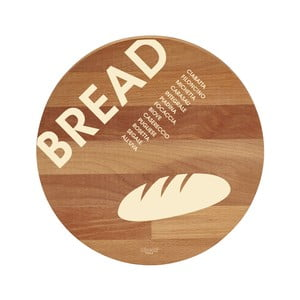 Deska z drewna bukowego Bisetti Bread, 30 cm