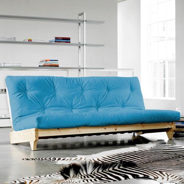 Sofa rozkładana Karup Fresh Raw/Horizon Blue