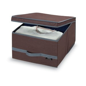 Brązowe pudełko Domopak Living, duże