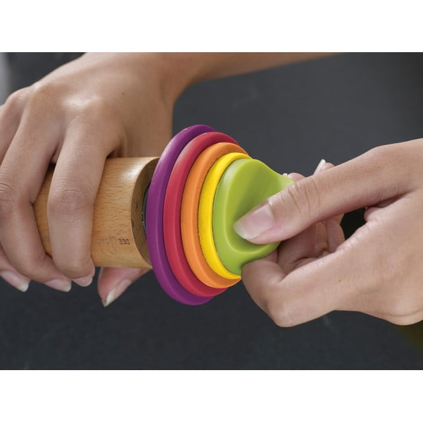 Regulowany wałek z kolorowymi pierścieniami Joseph Joseph