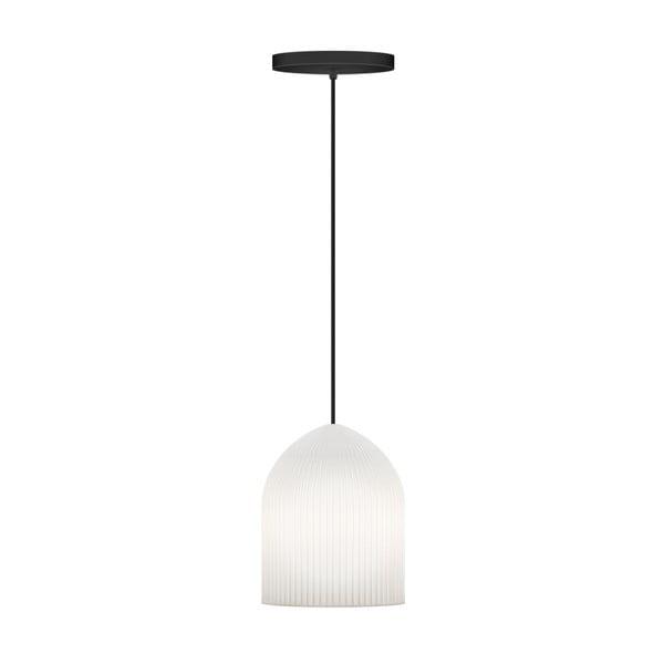 Biała lampa wisząca VITA Copenhagen Ripples Curve, Ø15cm