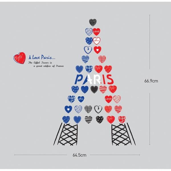 Naklejka Ambiance Love from Paris