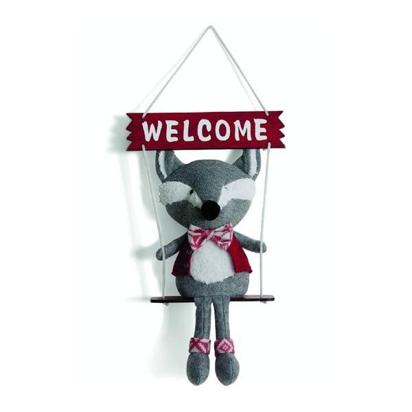 Dekoracja Welcome Fox