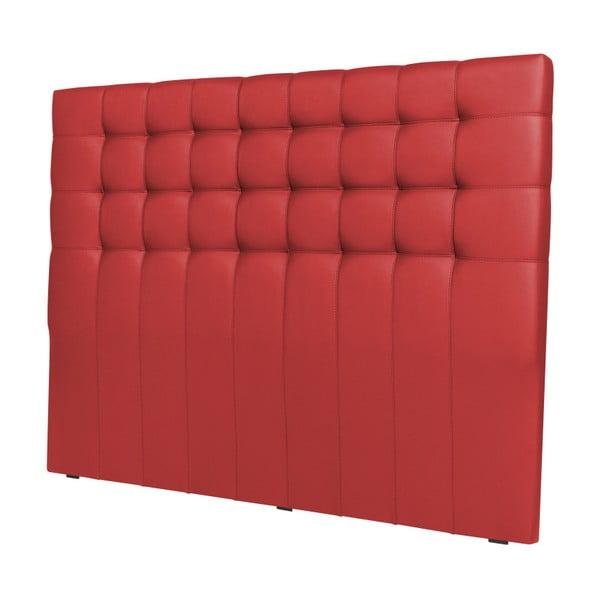 Czerwony zagłówek łóżka Windsor & Co Sofas Deimos, 200x120 cm