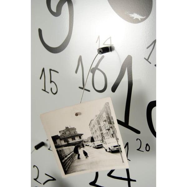 Magnetyczny kalendarz Krok White, 30x100 cm
