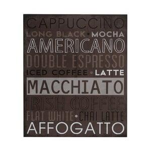 Drewniany obraz Macchiato, 25x30 cm