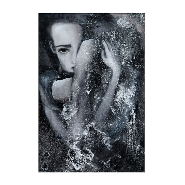 Plakat autorski: Léna Brauner 1:56:00, 42x60 cm