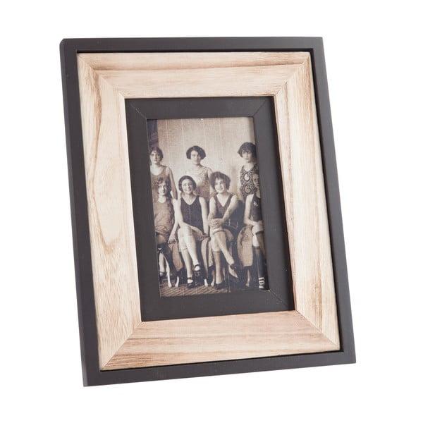 Ramka na zdjęcia Wood Black, 22x27 cm