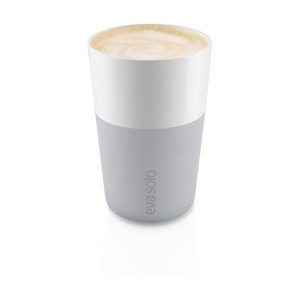Wysoki kubek Eva Solo Café Latté Marble, 360 ml, 2szt.