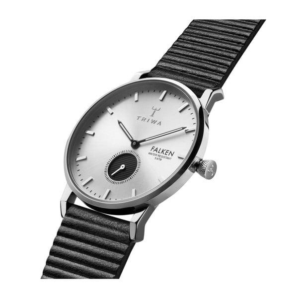 Zegarek ze skórzanym paskiem Triwa Charles Falken