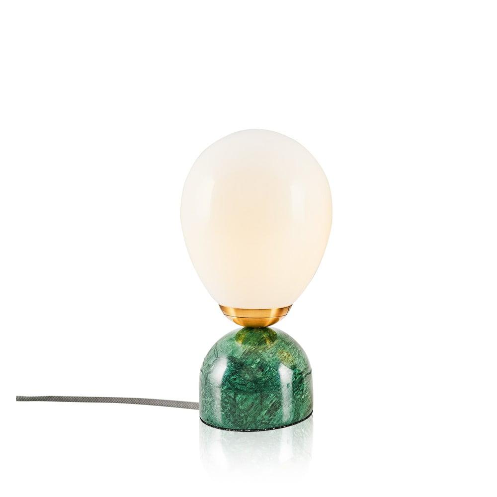 Lampa stołowa z zieloną podstawą Repedo